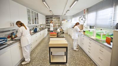 I+D+i en laboratorio propio