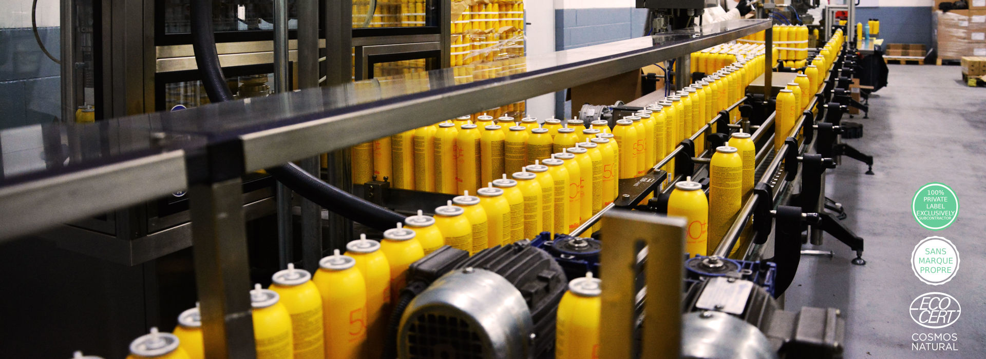línea producción fábrica Proersa